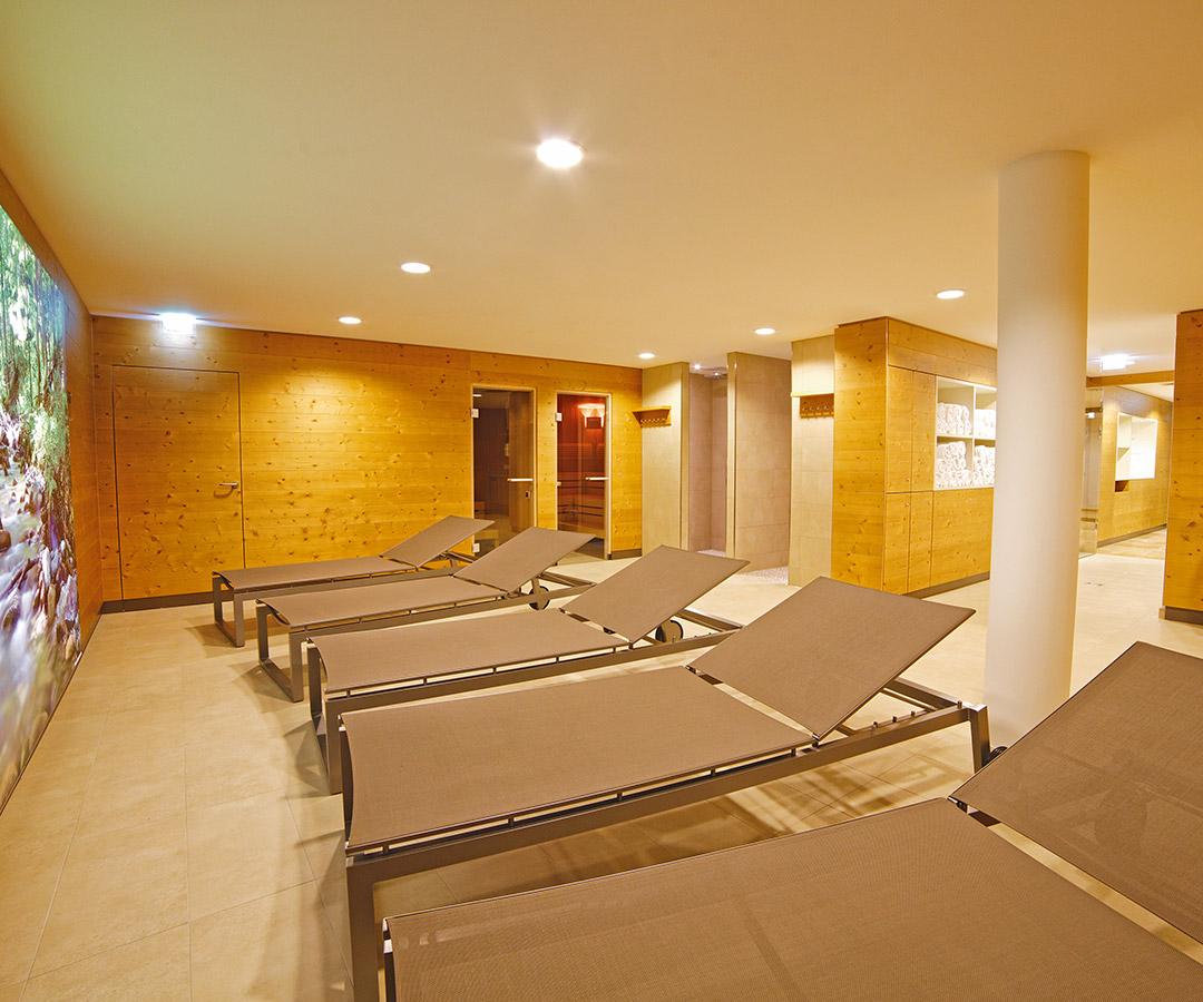 Sauna & Fitnessbereich im Hotel