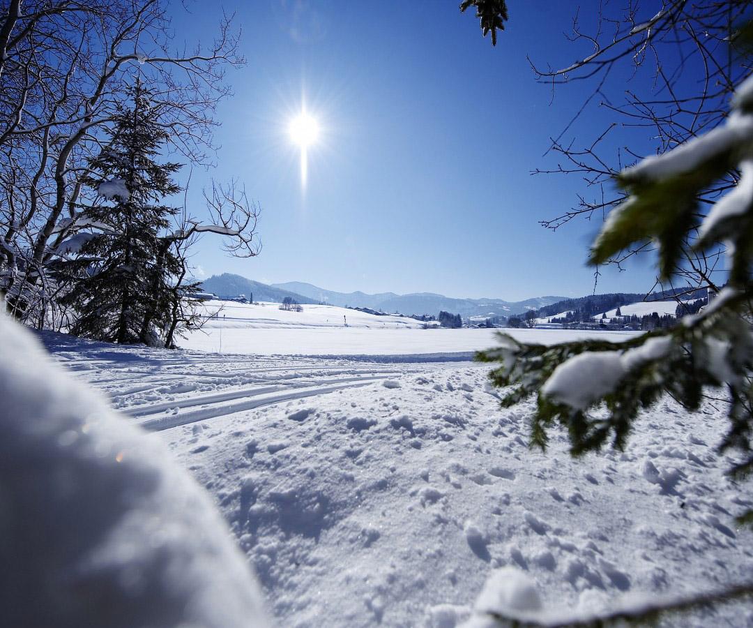 Wintertage-Angebot im Allgäu