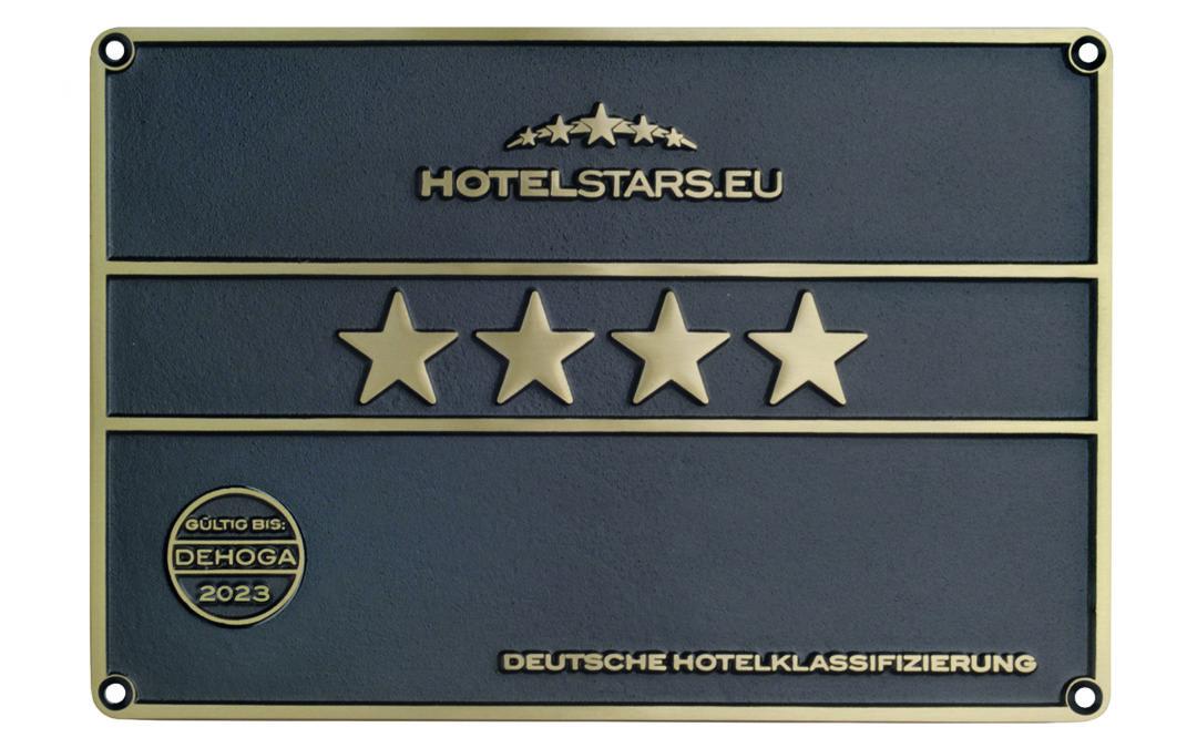 Offiziell 4-Sterne zertifiziert