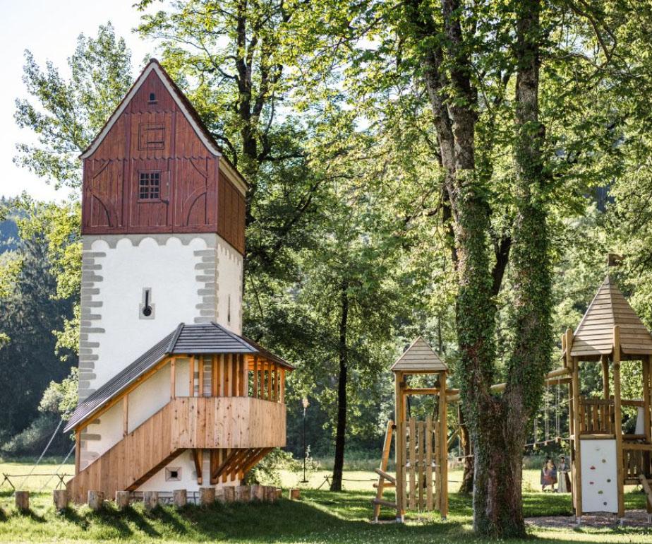 Abenteuerspielplatz für Kinder