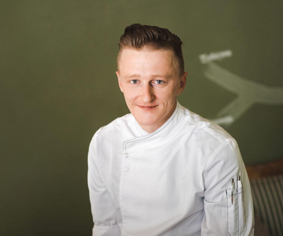 Küchenchef Sebastian Pethke